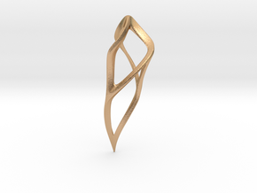 Fluidic Claw in Natural Bronze