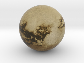 Cloudless Titan 1:150 million in Natural Full Color Sandstone