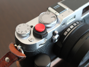 Button on/off Fuji X100F in Black Premium Versatile Plastic