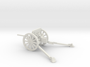 1/48 IJA Type 94 37mm Anti-tank Gun in White Natural Versatile Plastic