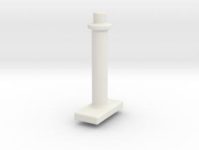 1pc-darren-roof-check in White Natural Versatile Plastic