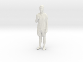 Printle C Homme 128 - 1/20 - wob in White Natural Versatile Plastic
