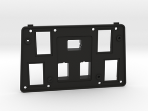 Land Rover center console switch plate FHR100502 in Black Natural Versatile Plastic