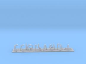 MR Mariana-Fernanda in Smooth Fine Detail Plastic