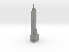 Baiyoke Tower II - Bangkok (1:4000) in Gray PA12