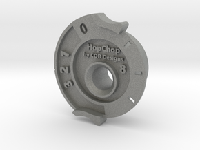 HopChop Mk4 Guide - R-Hop Cutting Jig in Gray PA12: Small
