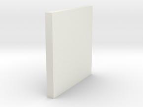 LetterTouch-Feel the Alphabet in White Natural Versatile Plastic