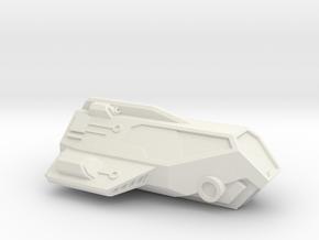 Speeder (bike / jet bike alternative) in White Natural Versatile Plastic