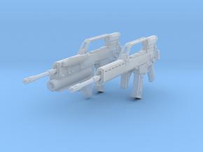 1/10.5 Heckler Koch Rifle G36E Export Set202 in Smooth Fine Detail Plastic