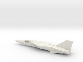 F-111TACT-144scale-WingsBack-01-Airframe in White Natural Versatile Plastic
