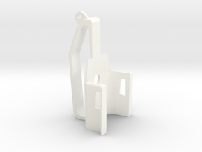 DJI Mavic steadicam handle in White Processed Versatile Plastic