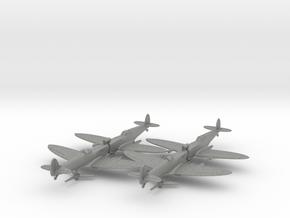 1/200 Spitfire MkVC Trop x4 in Gray Professional Plastic