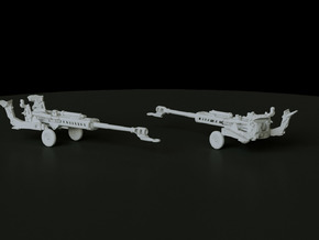 M777 Towed scale: 1:160  in Smooth Fine Detail Plastic