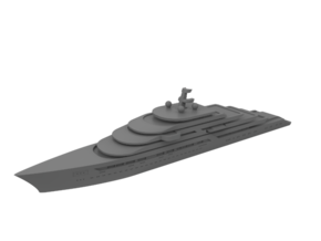 1:1250 Miniature Gleam Project - Miniature Ship in Smooth Fine Detail Plastic: 1:1250