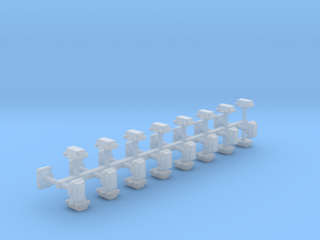 Kabelverteiler groß 32erSet 1:120 TT in Smooth Fine Detail Plastic