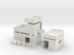Free Download - SCIFI OUTPOST in White Natural Versatile Plastic