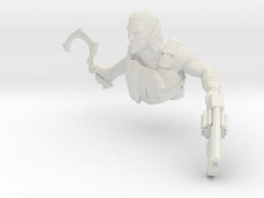 Stalker Master Vuk -Torso in White Natural Versatile Plastic