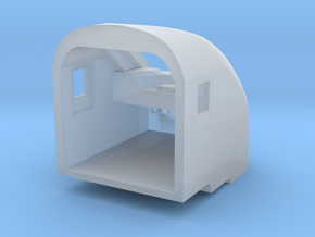 [HO] Bloc cabine b5uxh in Smooth Fine Detail Plastic