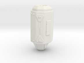 Sons Jet Pack - Right Booster in White Natural Versatile Plastic
