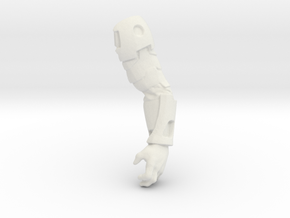 Vakon Left Arm in White Natural Versatile Plastic