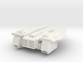 ARC Drone Bottom Only in White Natural Versatile Plastic