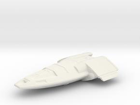 fighter shuttle in White Natural Versatile Plastic