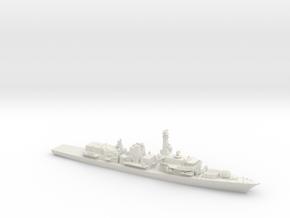 Type 23 Frigate in White Natural Versatile Plastic: 1:700