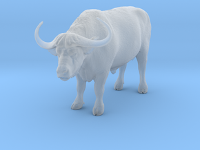 Cape Buffalo 1:32 Standing Male 4 in Smooth Fine Detail Plastic