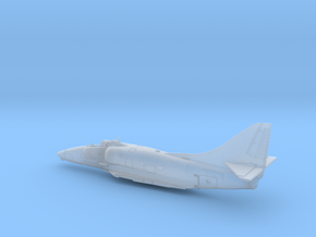 A-4E-144scale-01-Airframe in Smooth Fine Detail Plastic