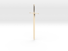Ice - Ned Stark's Sword -  Game Of Thrones in 14K Yellow Gold