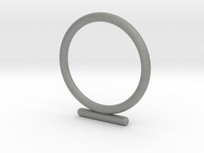 Umlaut 4 - ō in Gray Professional Plastic: 3 / 44