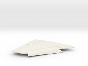 A-4F-BlueAngel-144scale-04-RightWing-SlatsDown in White Natural Versatile Plastic