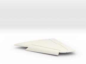 A-4F-BlueAngel-144scale-05-LeftWing-SlatsDown in White Natural Versatile Plastic