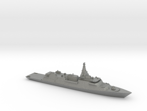 Type 26 Global Combat Ship in Gray Professional Plastic: 1:1200
