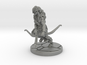 Wood Elf Archer / Ranger in Gray Professional Plastic