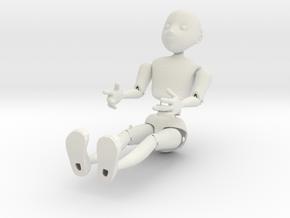 Marionette Prototype 2 in White Natural Versatile Plastic