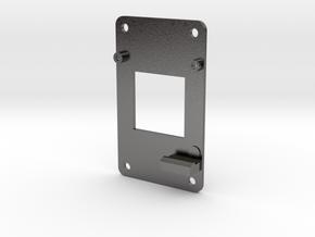RockBlock9603Base in Polished Nickel Steel
