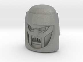 Gobots Cy-Kill Face (Titans Return) in Gray Professional Plastic