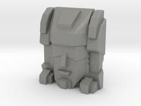 Trizor Faceplate (Titans Return) in Gray PA12