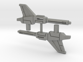 Brainstorm's Photon Pulse Cannons, Smaller, 5mm in Gray Professional Plastic