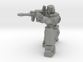 Diaclone Sharpshooter, 5mm Mini in Gray Professional Plastic