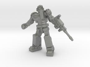 Diaclone Grenadier, 35mm Mini in Gray PA12