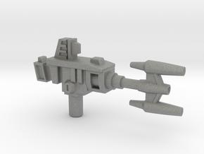 Bombshell's Gun, 5mm in Gray Professional Plastic