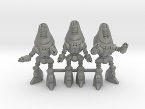Protectron Patrol - 3 35mm Minis in Gray PA12