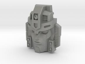 Jetstrike Robot Face (Titans Return) in Gray PA12