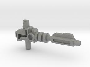 Prime's Laser Gun, 5mm in Gray PA12: Medium