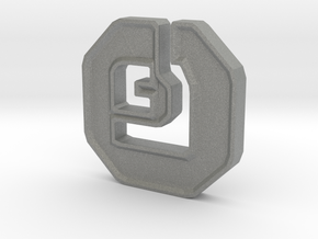 Shanix Coin in Gray Professional Plastic: Medium