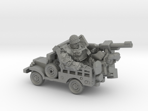 """""""Sarge"""" and """"Eggsy"""", Vehicle Mode Miniature in Gray PA12"""