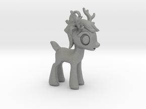 "My Little OC: Smol Reindeer 3.5""  in Gray Professional Plastic"