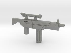 Tek-Tac Machine Gun in Gray Professional Plastic: Small